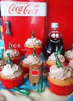 Coca-Cola Cupcakes!