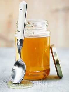 """Healing Honey:  """"Jodi Ranson, an esthetician at Utah's Golden Door Spa, recommends honey for taking care for dry, cracked lips. """"It helps to heal wounds and hydrate parched skin, plus the anti-viral properties make it a good cold sore remedy, too."""""""
