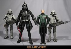SILLOF's WORKSHOP: featuring the custom action figures and dioramas of sillof
