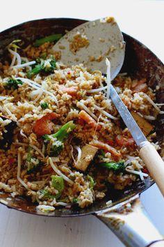 Fried Rice-Thai with Shrimp