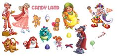candyland characters | entry about Candy Land