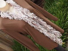 Elegant Ribbon Scarves - This is  'Cinderella'    soft shimmery neutrals...$40