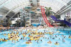 World Waterpark at the West Edmonton Mall - Edmonton, Canada