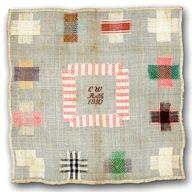 Antique Dutch Darning Sampler patterns, antiqu dutch, color combos, darn sampler, antique quilts, stitch, antiqu sampler, sampler quilts, embroideri