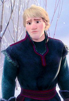 I don't know why...but I just REALLY love this gif of Kristoff. I just feel like the animators perfectly captured the face of someone that is trying to give up on the person they love; to let them go but doesn't want to