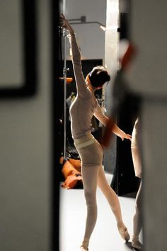 A peek at Corps dancer Lara Tong in action. Photo: Christine Navin