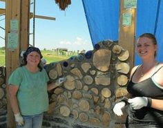 Cordwood Chapel at Kinstone Permaculture Academy - Green Homes - MOTHER EARTH NEWS