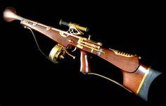 Steampunk MK5 Kraken Gun.Rifle Prop Awesome SciFi Fantasy Cool Retro. £350.00, via Etsy.