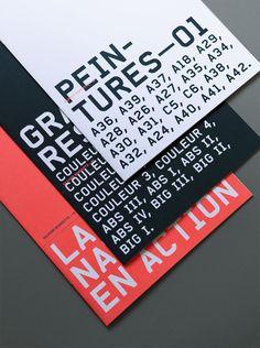 Typography / bureaunoirceur:Typography