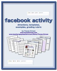 Facebook activity to use with any novel
