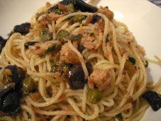 Italian Recipe: Pasta with Tuna & Lemon Sauce - 12 Tomatoes