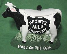 Hershey's Milk Chocolate Cow Cookie Jar