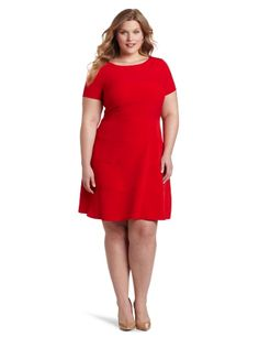 Pretty red dress!