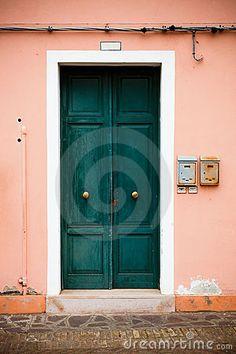 swirly door.