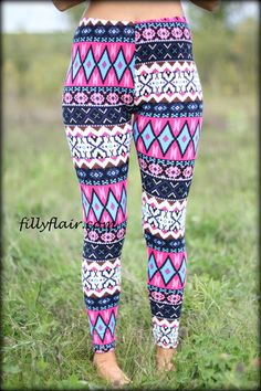 Around the World Leggings - Filly Flair