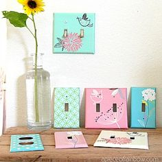 outlet cover diy, outlet covers