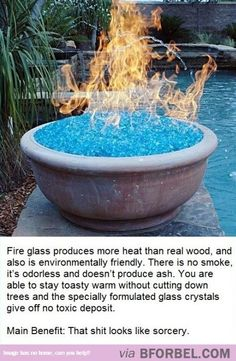 Introducing Fire Glass…
