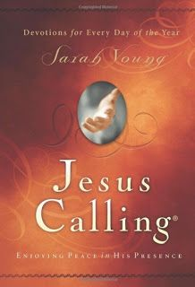 Love this daily devotional! book club, book review, Jesus Calling Sarah Young