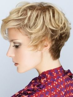 hair colors, short haircuts, short hair styles, blondes, art, hair cut, short hairstyles, shorts, womens short curly hairstyles
