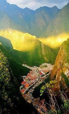 Aguas Calientes, Peru, a place to go.