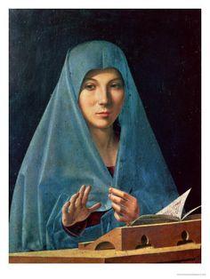 The Annunciation 1474-75 by Antonello Da Messina
