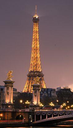 Eiffel Tower - Paris, France