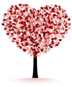 Hearts tree fingerprint, thumb prints, valentine day, trees, tree crafts, happiness is art, happy heart, heart tree, happi valentin