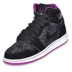 Air Jordan 1 Retro High (Girls) - Lace