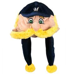 You KNOW you want this Bernie Brewer cap. How could anyone resist?!