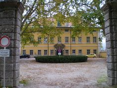 The Von Trapp house from the Sound of Music