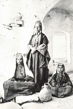 Bethlehem-بيت لحم: Group Of Women From Bethlehem, 1869