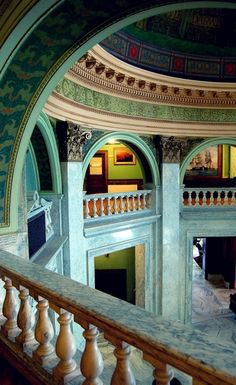 Roswell P. Flower Memorial Library in Watertown, N.Y. ... It is gorgeous.
