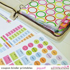 Coupon Binder Printable Templates Free | Printables & Templates - Organized Mom - Coupon Binder Organization ...