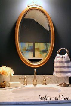 Half Bathroom {Re}Makeover