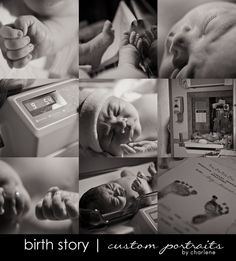 so in love with this idea - especially if Dale isn't there to witness the birth.