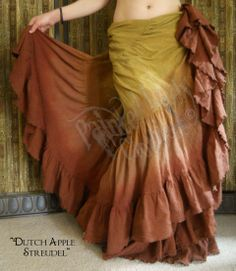 """Dutch Apple"" 18 Yard Petticoat"