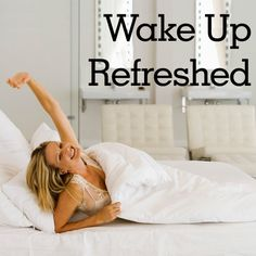 How to Get a More Restful Night of Sleep: Reasons You're Not Waking Up Energized. Some of these really are brilliant! :)