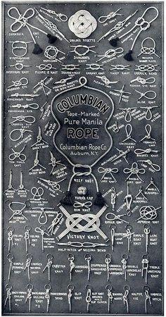 Knots, knots & more knots