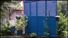 Garden Privacy Fence from bi-fold doors (no instructions just picture for idea)