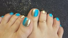 Two tone for summer. www.aroyalpampering.com