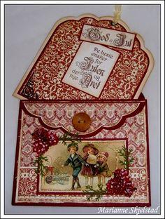 Vintage Style Christmas Card...beautiful.