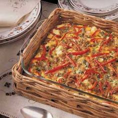 Sunday Brunch Casserole Recipe | Taste of Home Recipes