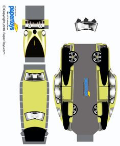 Tucker Automobile Paper Model - Free Paper Toys and Models at PaperToys.com
