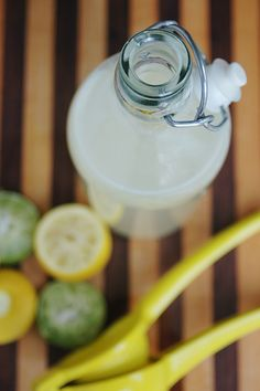 Homemade Gatorade no chemicals or sugar