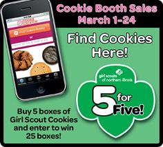 girl scout cookie program on pinterest girl scout