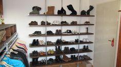 Pipe shelves #KeeKlamp