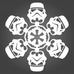 Stormtrooper Snowflakes: Directions & Diagram on Site!