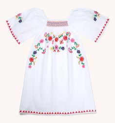 Girls Mexicana Embroidered Dress