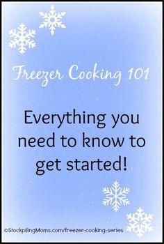 Freezer Cooking 101
