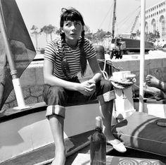 Stripes (Juliette Gréco) #stripes